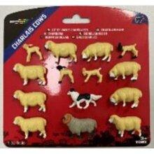 Britains Sheep Set - 1:32