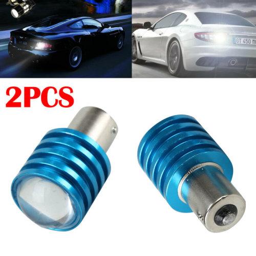 2PCS CREE R5 LED 5W 1156 S25 P21W Lamp Car HID Backup Reverse Lights Bulbs White