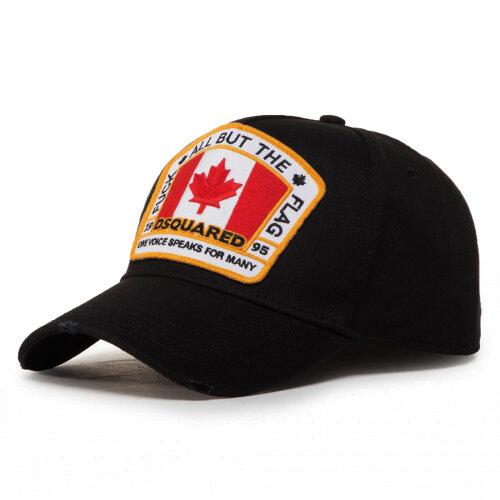 Dsquared2 All But The Flag Black Baseball Cap