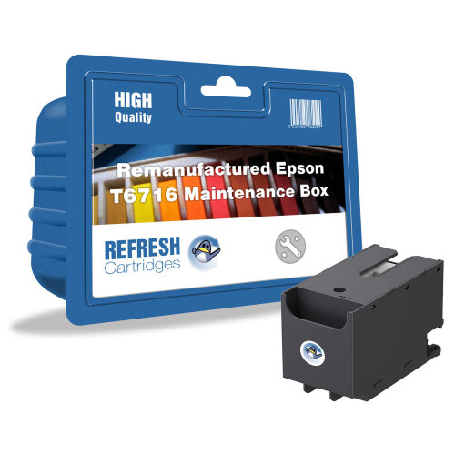 Remanufactured T6716 (C13T671600) Maintenance Box Replacement for Epson Printers