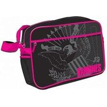 Ramones Pink Logo Retro Bag