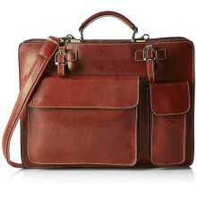 39x30x11 cm -Leather Bag -Organizer - Made in Italy