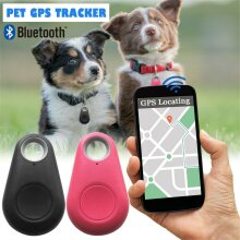 GPS Key Finder Mini Smart Tag Bluetooth Locator Tracker Anti LostAlarm