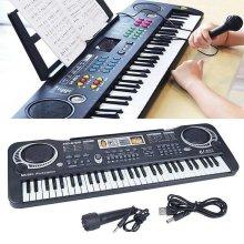 61keys Digital Musical Electronic Keyboard Piano With Mic Adult / Kids Beginner