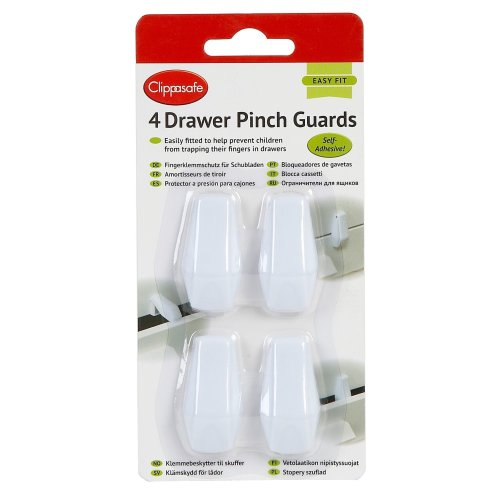 Clippasafe Drawer Pinch Guards (4 Pack)