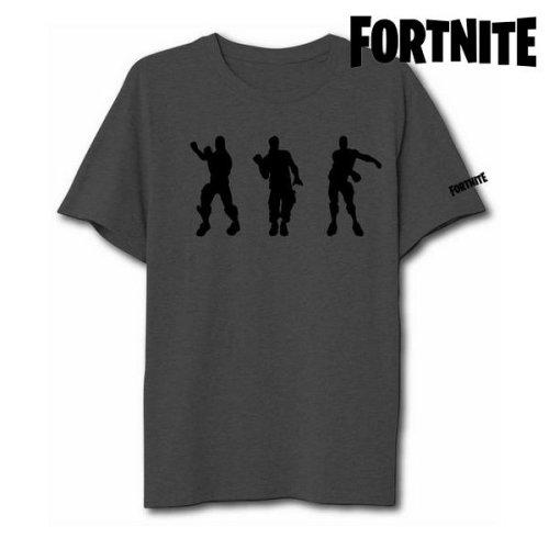Unisex Short Sleeve T-Shirt Fortnite 75063 Grey