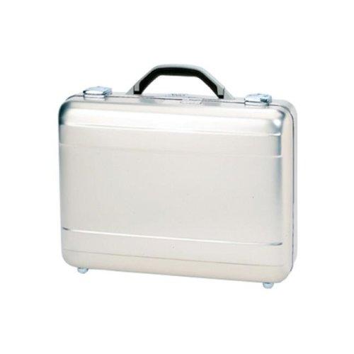 TZ Case AC-38 S Molded Aluminum Attache Case, Silver - 5 x 13 x 18 in.