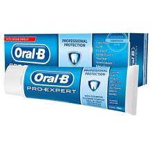 Oral-B Pro-Expert Professional Protection Toothpaste 75ml Clean Mint - Pk of 3