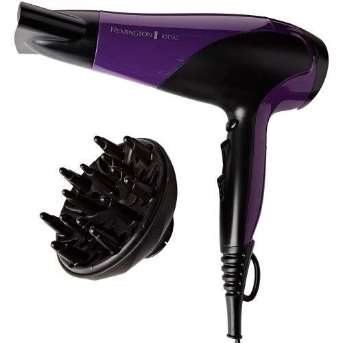 Remington 2200W Women's Professional Hair Dryer with Ionic Conditioning - Purple