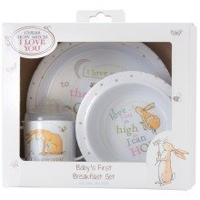 Guess How Much I Love You 3 Piece Breakfast Set