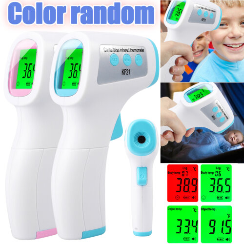 IR Infrared Digital Thermometer Non-Contact Forehead Meter Gun Baby/Adult