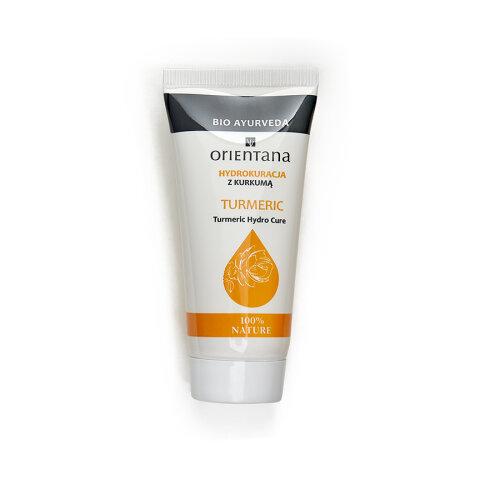 Orientana - TURMERIC HYDRO CURE- 98% Natural - Vegan - gel texture - high skin hydration - anti-inflammatory - softens - lightens discolorations, 30g