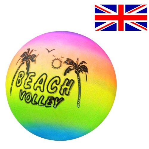 Beach Ball Volleyball Inflatable Kids Beach Ball Pool Rainbow Indoor/Outdoor