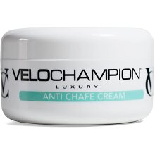 VeloChampion Luxury Anti Chafe Chamois moisturising Cream | Prevents Cyclist & Runners Sports Chaffing,150ml
