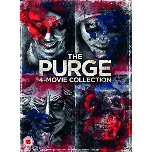 The Purge 1 to 4 DVD [2018]