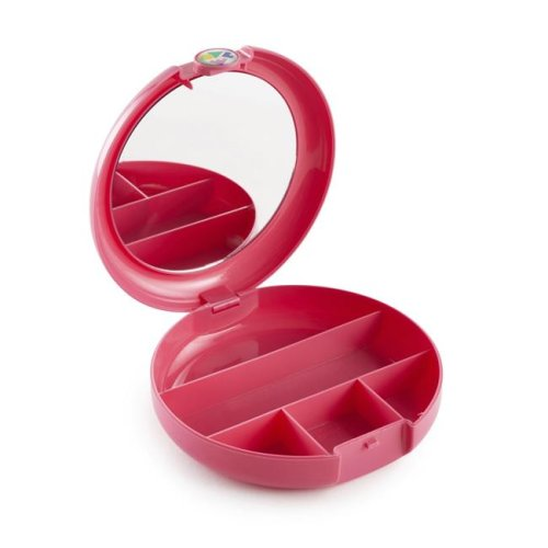 Caboodles CAB58606A Cosmic Cosmetic Compact, Hot Pink