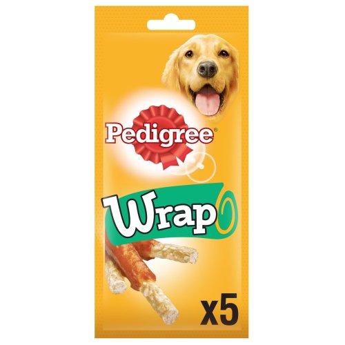 Pedigree Wrap Dog Treats With Chicken 10x50g