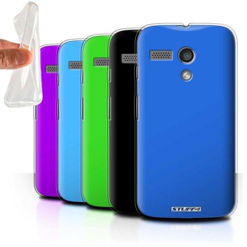 Colours Motorola MOTO G (2013) Phone Case Transparent Clear Ultra Soft Flexi Silicone Gel/TPU Bumper Cover for Motorola MOTO G (2013)