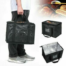 3 Sizes Insulated Food Delivery Bags Rucks Takeaway Thermal Warm/Cold Package