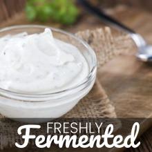 Certified Organic Creme Fraiche Starter Culture