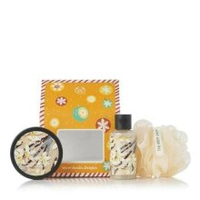 The Body Shop Warm Vanilla Delights Christmas Gift Set, Shower Gel & Body Butter