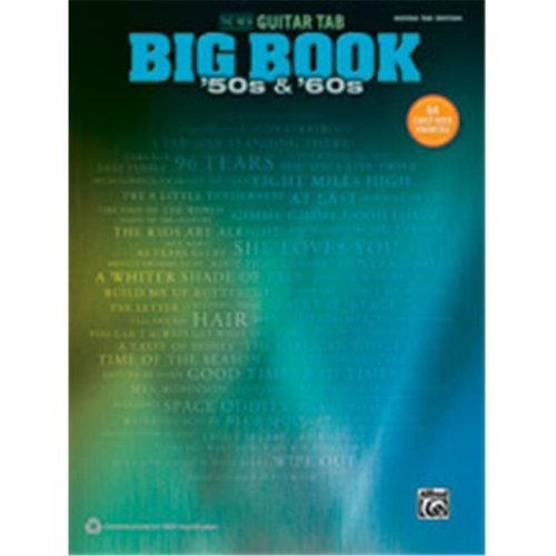 Alfred 00-42428 NEW GTR TAB BIG BOOK 50S & 60S, THE