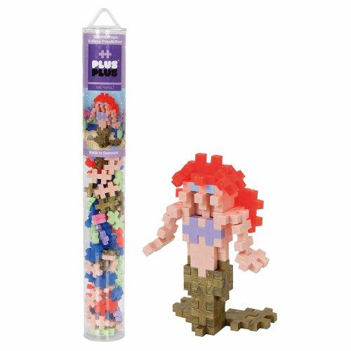 Plus-Plus Mermaid 100 pcs Tube Building Bricks,