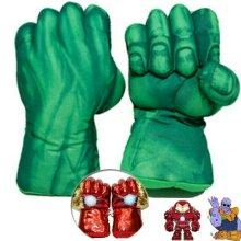 Kids Superhero Gloves Smash Hands Hulk Ironman Punching Boxing Fists Toy Gift