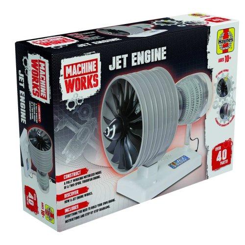 Haynes Jet Engine Model Kit