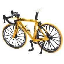 Bicycle Model Mountain Bike Cross Racing Cycle- Model Mini Collection Toys, Classic Kids Gift Excellent Collection