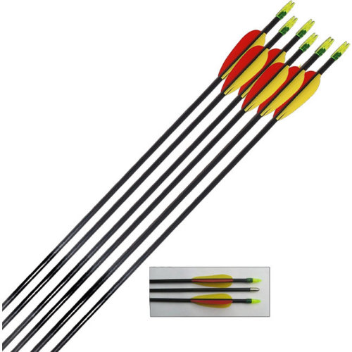 Archery Target Arrows Fibreglass 30 inch (Pack of 12)