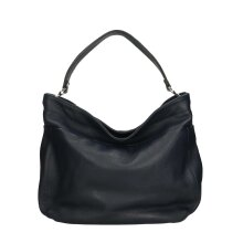 37x29x12 cm - Hobo Leather bag - Made in Italy
