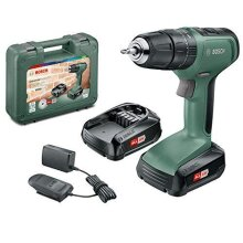 Bosch Cordless Hammer Drill UniversalImpact 18 (2x Batteries, 18 Volt System, in Carrying Case)