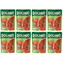 Dolmio Pasta Sauce Creamy Tomato 8x 150g Pouches Best Before 1ST OCT20