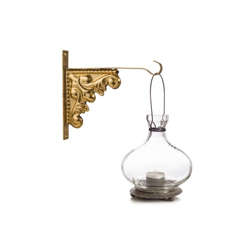 Gold Wall Hanger Hook Metal Indoor Lantern Hanger