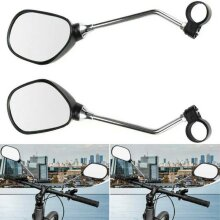 1 Pair Bicycle Mobility Scooter Bike Handlebar Rear View Mirror Cycling
