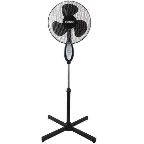 Sohler Remote Controlled Oscillating Fan - Black