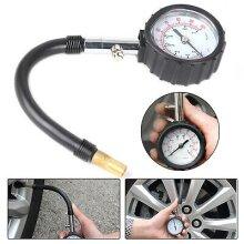 Tyre Pressure Gauge Air Measurement Inflator BAR PSI Car Bike Van Moto