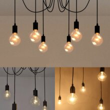 Vintage Retro Ceiling Lights Pendant Light Chandelier Spider Lamp E27