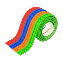 1m Kids Building Block Sticky Brick Tape Strip Toy Corner Wall Bendable Flexible