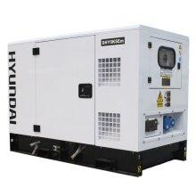 Hyundai DHY9KSEm 1500rpm 9kVA Single Phase Diesel Generator