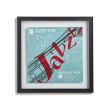 Umbra 310420-040 Record Album Frame 12 x 12 & 14.5 x 14.5 in. - Black