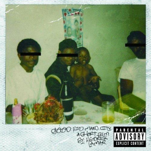 Kendrick Lamar - Good Kid, M.A.A.d City   CD Album