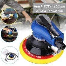 """150mm 6"""" Air Random Orbital Sander  Palm Sander Pneumatic Tool"""