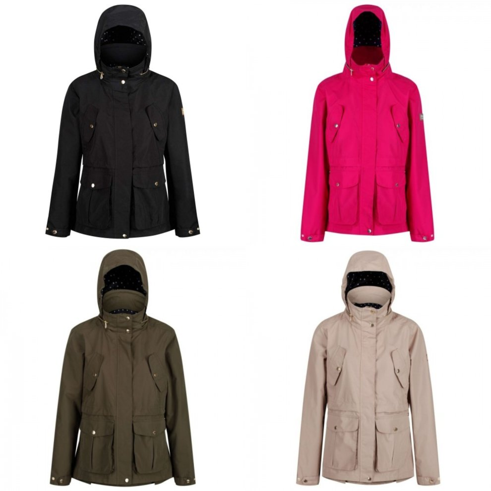 Regatta Womens Nadalia Lightweight Waterproof Jacket