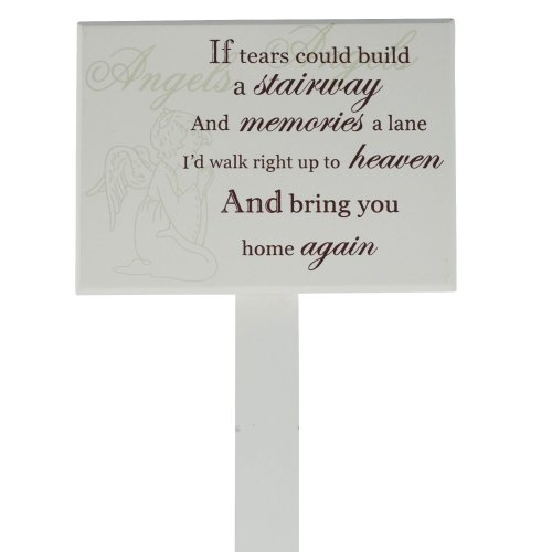 Grave Stick Stake Memorial Marker If Tears Could Build