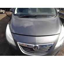 2010-2013 Vauxhall Meriva B Mpv 5 Door Bonnet Grey GAL 177 - Used