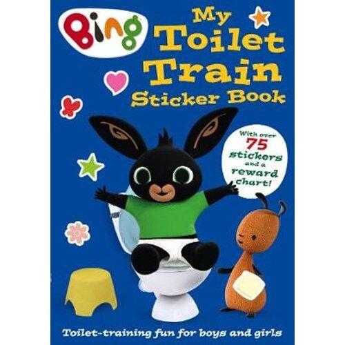 Bing: My Toilet Train Sticker Book | Paperback