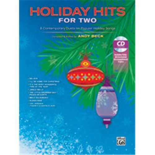 Alfred 00-41748 HOLIDAY HITS FOR TWO-BK&CD