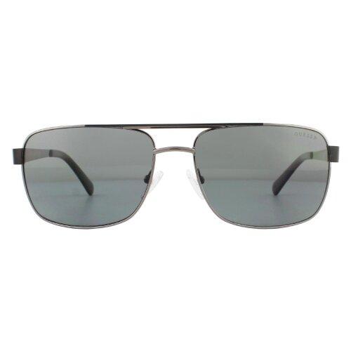 Guess Sunglasses GU6968 08D Shiny Anthracite Grey Polarized